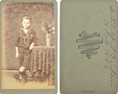 Archibald S Dickson, 18 February(?) 1884, by Jackson, Rangoon, Burmah