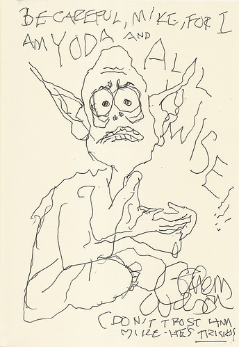 Yoda sketchbook vol. 3 page 6 - Gahan Wilson