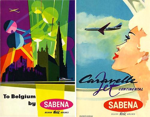 1958 ... Sabena by x-ray delta one.