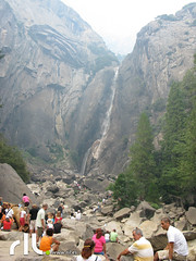 Lower Yosemite Falls. Yosemite (Javier rIL) Tags: usa yosemite catarata eeuu