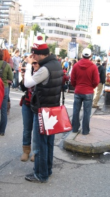 supporter canadien