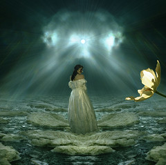 "I'm open for you (Mara ~earth light~) Tags: light sea sky inspiration flower texture photoshop women energy earth gimp fantasy creativecommons opening intuition idream memoriesbook awardtree ""altrafotografia"" artistictreasurechest miasbest magicunicornverybest trolledproud mara~earthlight~"