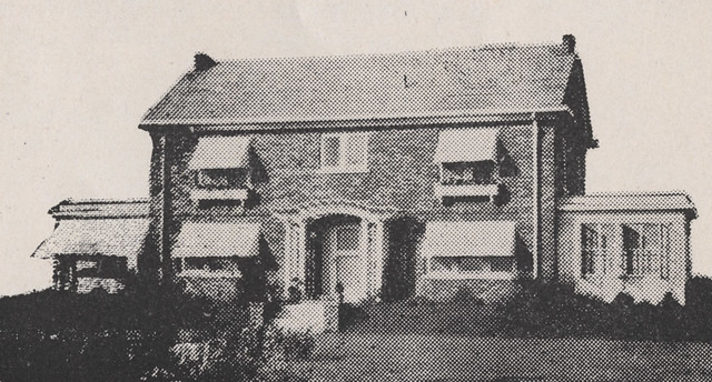 1740 Roxbury Road in 1918 by UA Archives  Upper Arlington History