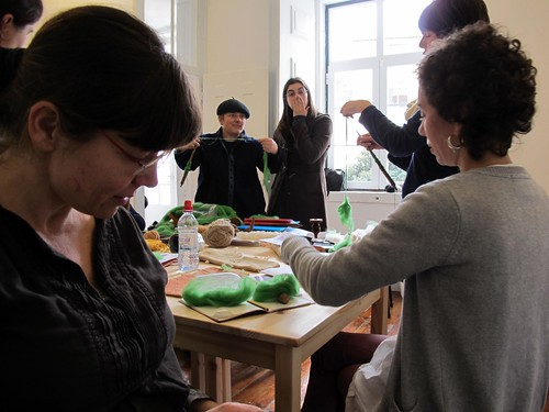 workshop de fiação