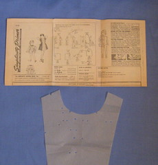 vintage childs pattern instr