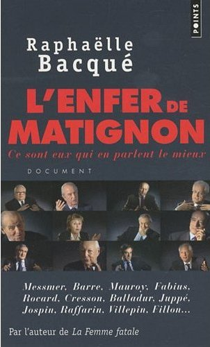 L'Enfer de Matignon - Couverture