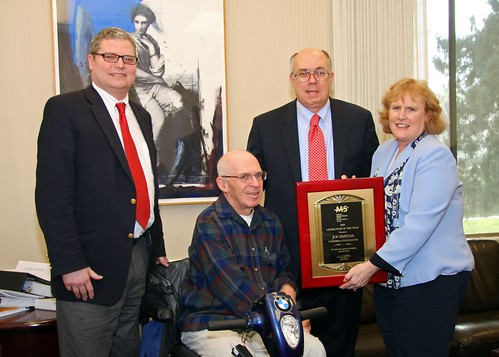 "MS Society names Joe Simitian ""Legislator of the Year"""