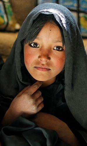 Afghan school girl by maiaibing2000