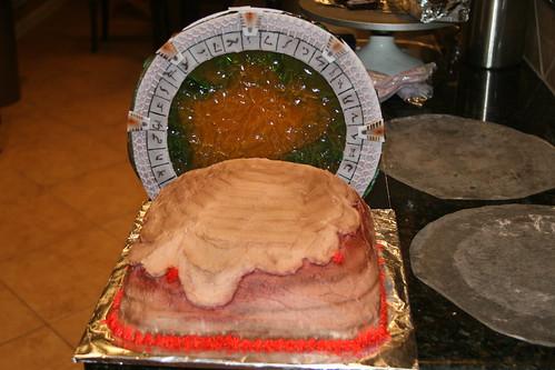 stargate cake's alien side