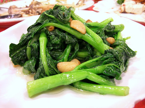 Stir-Fry Choi Sum with Garlic