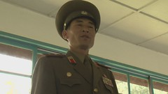 North Korean Colonel speech part 1 DMZ North Korea (Video HD Bank) Tags: usa film movie soldier army video war uniform asia image military korea unitednations asie hd tension coree guerre militaire soldat onu northkorea armee footage panmunjom dprk coreadelnorte nordkorea 38thparallel democraticpeoplesrepublicofkorea   hidefinition  movingimages coreadelnord koreandemilitarizedzone  northandsouthkorea  insidenorthkorea  rpdc  coreiadonorte   demilitarizedzonedmznorthkoreasouthkoreamilitary bankvideoyahoocom demitilarizedzone