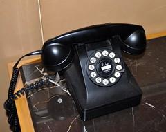 Retro Phone (Kevin H.) Tags: old city nyc newyork vintage hotel phone telephone retro essexhouse