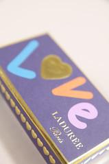 """Love"" Cœur Cholats, Ladurée Paris, Nihonbashi Mitsukoshi"