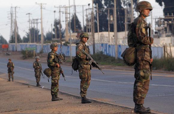 Terremoto de Chile: Soldados garantizan el orden