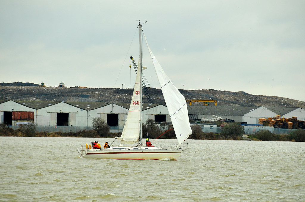 Yachts off Erith  960
