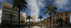 Sassari (CarloAlessioCozzolino) Tags: sardegna sky clouds nuvole sardinia cielo panoramica sassari piazzacastello panoramicview bej abigfave