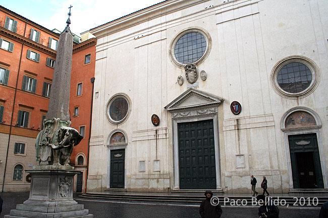 Santa Maria sopra Minerva. © Paco Bellido, 2010
