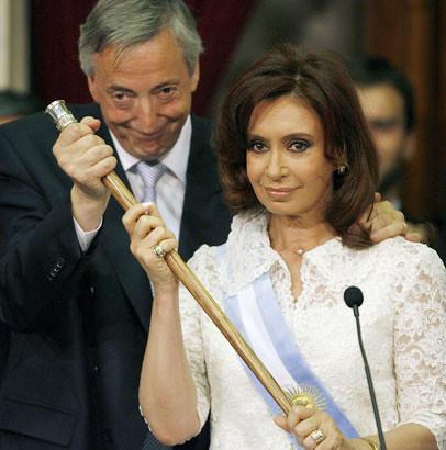 Cristina y Néstor