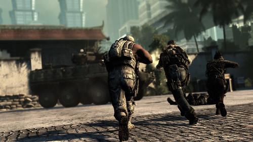 SOCOM 4 screenshot Team Running