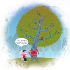 árbol adoptado (:raeioul) Tags: verde arbol www un furia cabizbaja adopta bancolombia raeioul raeioucom