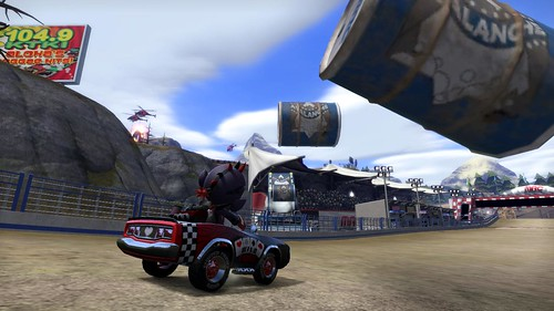 ModNation Racers PS3 Screenshot - Barrel Launcher