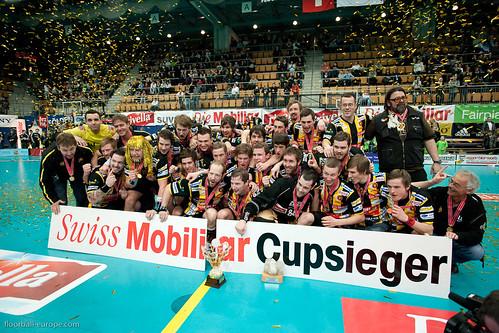 Swiss Mobiliar Cupfinal Herren UHC Waldkirch-St.Gallen - Unihockey Tigers Langnau - 06.03.2010