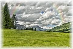 Badia - Abtei, localit di San Cassiano - Sankt Kassian, Prati dell`Armentarola verso il Sass de Putia, Peitlerkofel, 2.875 m e la Cima Dieci (o Sasso delle Dieci), m 3.026 (cicrico) Tags: dolomiti badia bolzano bozen altoadige sancassiano abtei valbadia gadertal sanktkassian