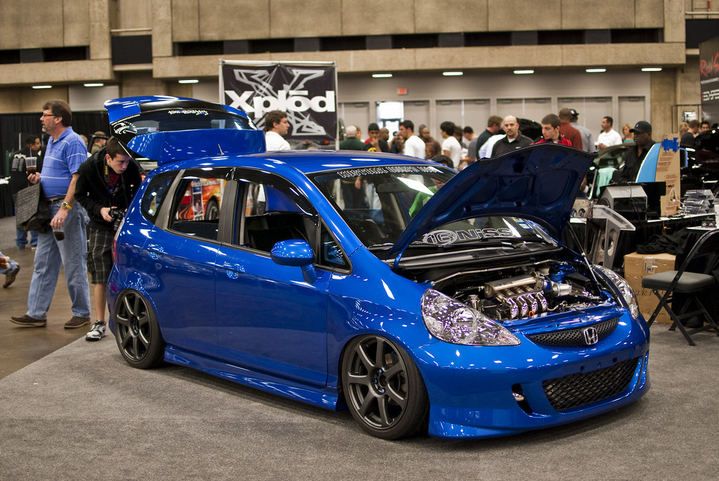 Honda Fit Turbo Bagged Jdm