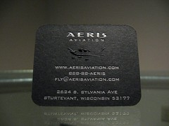 Aeris Aviation Embossed (Back)
