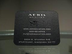 Aeris Aviation Embossed (Back)