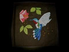 kolibri - 2009 (BlauweRegen) Tags: borduren