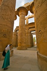 (1081) Karnak Temple (Luxor) Egypt (unicorn 81) Tags: africa old travel people sculpture woman art history me look stone architecture self trekking myself temple ancient leute northafrica egypt nile relief explore egyptian egipto ich gypten templo egitto hieroglyphs egypte reise personen egypten ancientegypt selbst hieroglyph rundreise roundtrip egipt gypte mapegypt staunen misr nordafrika egypttrip explorephoto april2009 gypten luxortempel aegyptus anticando  gyptusintertravel gyptenreise schulzaktivreisen photo10011500