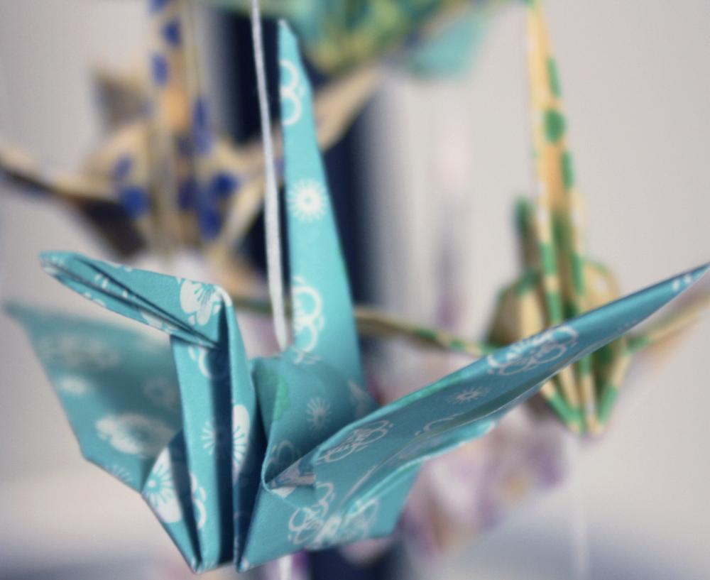 small paper crane
