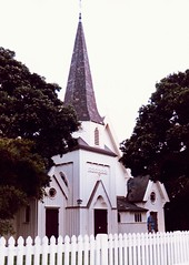 Old St Paul's Cathedral Wellington New Zealand 1991
