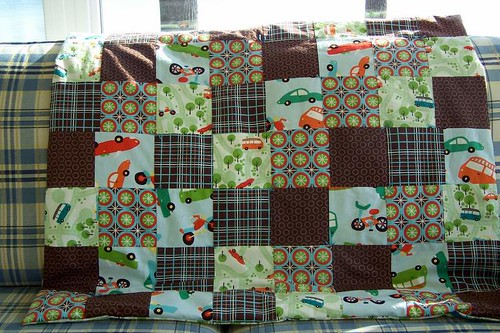 Patchwork Play Mat for Boys
