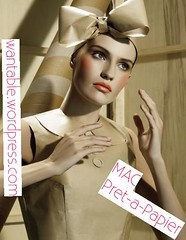 MAC Pret--Papier Collection (Wantable *) Tags: mac sombra gloss batom lipglass esmalte rubenesque paintpot creamblush pretpapier
