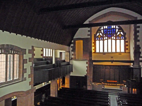Mackintosh Church Interior, Glasgow