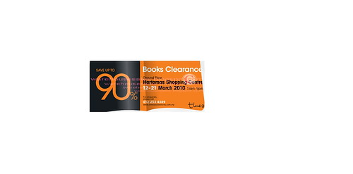 12 - 21 Mar: Times Books Clearance Sale @ Hartamas Chopping Centre