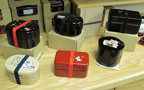 Bento boxes at Daikoku by Shiki, Japantown