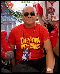 Dayton Flyers Supporting the Red Revolution (ebvImages) Tags: thailand protest redshirts udd