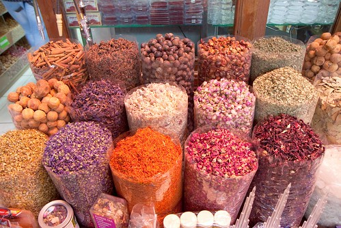 Spices at Dubai Souk