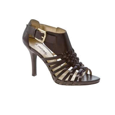 Joan and David Lachaise Leather Platform Sandal