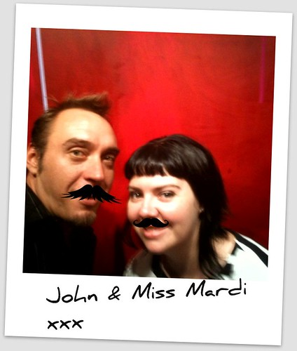 John and Mardi in Mo's