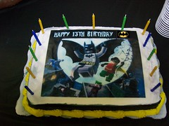 Lego Batman Party Cake StarWarsBat Tags Birthday Fun Birthdayparty Batgirl