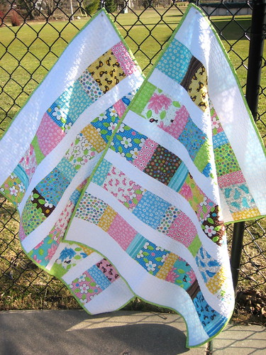 Charm Squares Baby Quilts