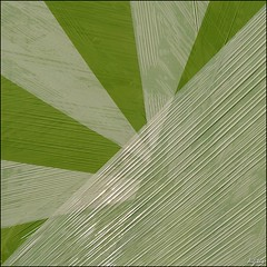 Wrapped I (upwards) (digitus_malus) Tags: abstract green film graphic geometry foil nikkor silage gruen geometrie d300 folie summum 50mmf18af nikoncapturenx