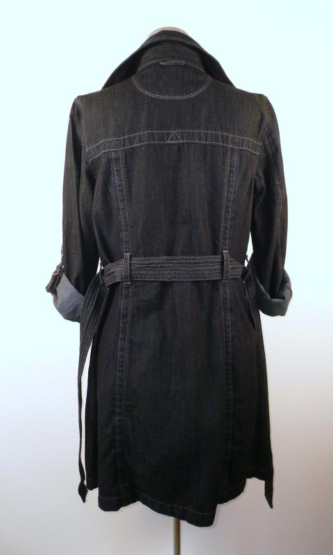 Back - Denim Converse ONE STAR Lightweight Trench coat