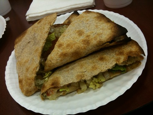 Pesto Quesadilla