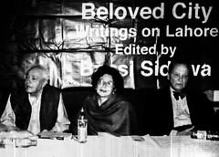 Munir Niazi, Bapsi Sidhwa and Justice Javed Iqbal (Doc Kazi) Tags: pakistan parsi minoo bapsisidhwa bapsi goshi kandawalla minoobhandara