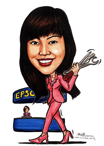 Caricature for Ministry of Manpower -10